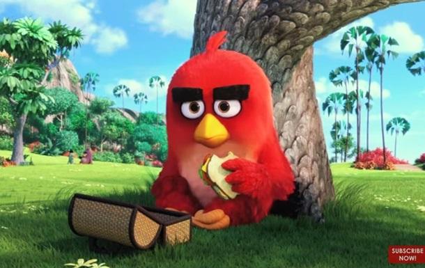 Вышел первый трейлер мультфильма  Angry Birds в кино