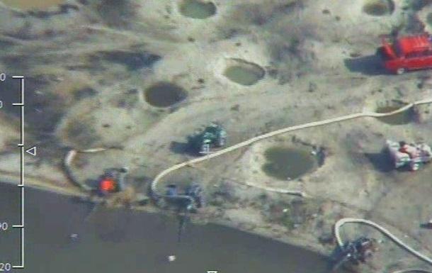 В Украине обнаружили еще 11 нелегальных копанок янтаря