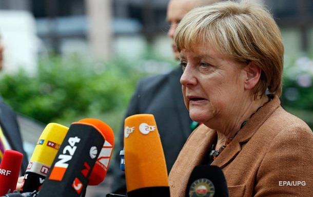 Меркель: Проблему с беженцами можно решить только с помощью Турции