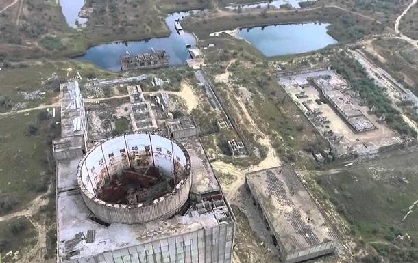 Беспилотник снял заброшенную Крымскую АЭС, где проходил КаZантип