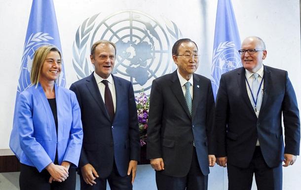 Генсек ООН и представители Евросоюза обсудили Украину