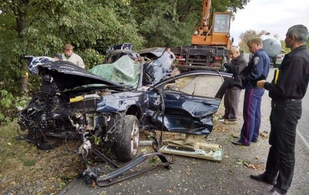 В ДТП на Черкасщине погибли четыре человека
