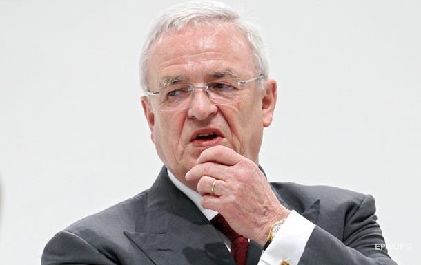 Открыто уголовное расследование против экс-главы Volkswagen