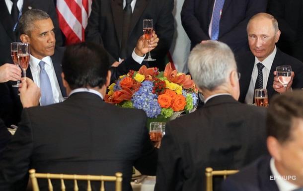Встреча с Обамой была полезной и откровенной - Путин