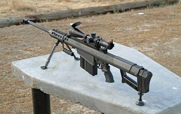 Нацгвардия получила новые снайперские винтовки и реактивные гранаты