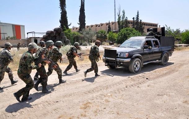 США приостановили прием рекрутов из Сирии для тренировок