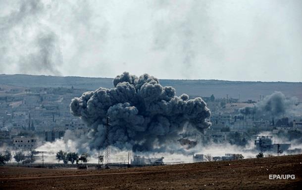 Авиаудар России по Сирии