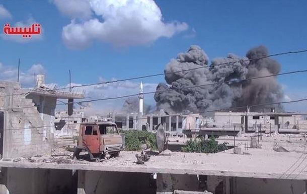 Сирийская оппозиция обвинила Россию в обстреле своих лагерей