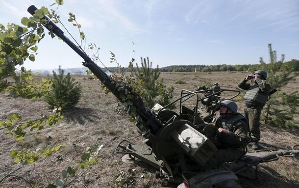 Киев назвал свое вооружение для отвода в Донбассе