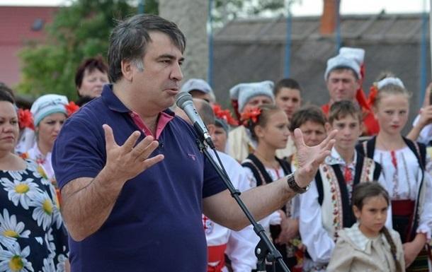 Саакашвили пропустил на карте часть Одесской области