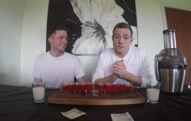 Экспериментаторы из США выпили сок из самых острых в мире перцев
