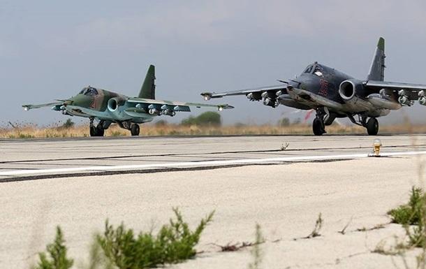 Российские военные показали новые авиаудары в Сирии