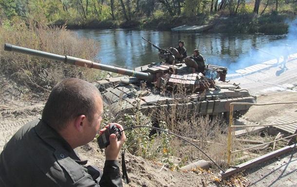 ОБСЕ зафиксировала отвод вооружений в Донбассе