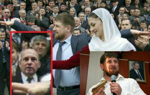 Атрошенко подарил золотой пистолет Кадырову и золотой батон Януковичу