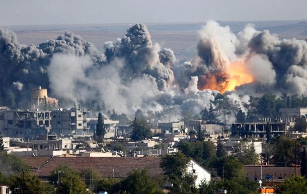 США и союзники нанесли авиаудары по Ираку и Сирии