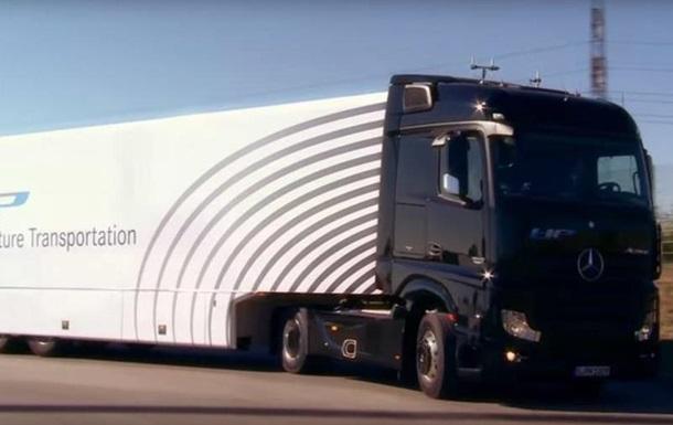Немцы впервые вывели на дорогу общего пользования беспилотный грузовик