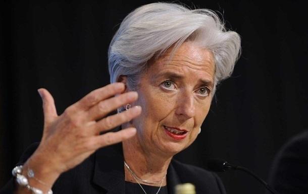 Лагард хочет пойти на второй срок в качестве главы МВФ