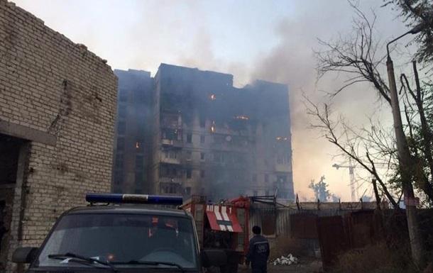 Обстрел Донецка: ОБСЕ призывает прекратить огонь