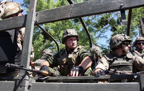 Силовики заявили об отводе 85-мм артиллерии на Луганщине