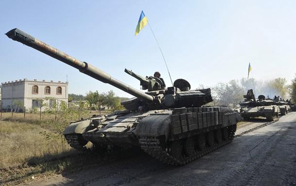 Киев отвел артиллерию калибром до 100 мм