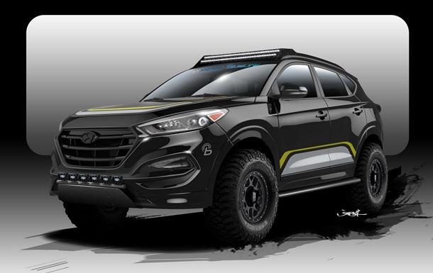 Hyundai Tucson превратили в экстремальный внедорожник