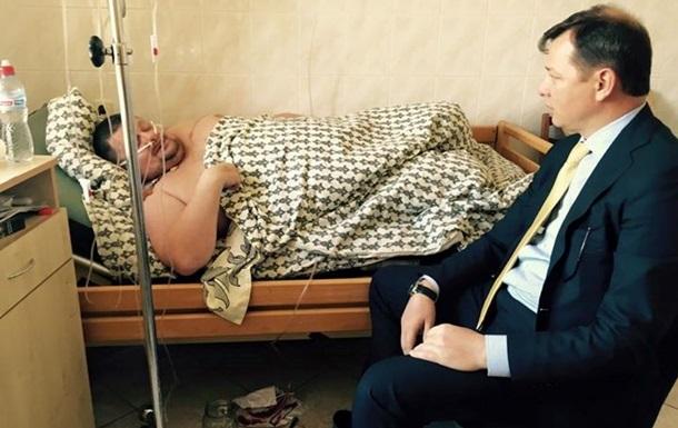 Мосийчука из суда снова забрали в больницу