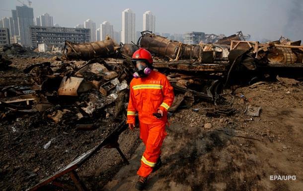 В китайском Тяньцзине вновь призошел взрыв