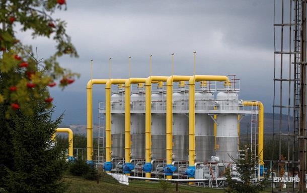 Кабмин отложил создание страхового запаса газа