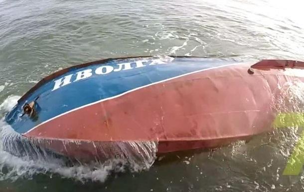 Появилось видео с места аварии катера  Иволга  под Одессой
