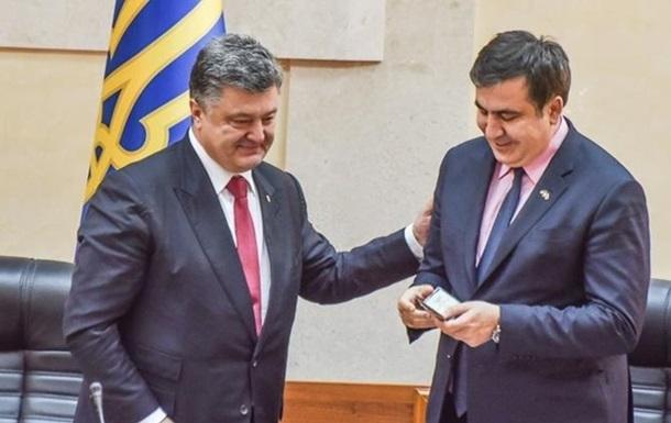 Саакашвили анонсировал  радикальные реформы  от Порошенко
