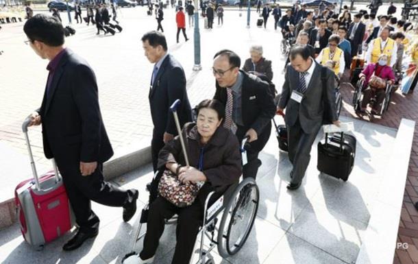 На границе Корей прошла вторая встреча разделенных семей