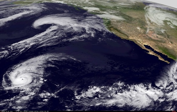 NASA опубликовала видео сильнейшего урагана  Патрисия