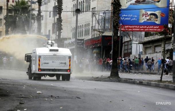 На Западном берегу Иордана застрелен палестинец с ножом