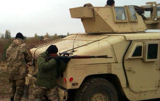 БТРы и зенитки. Десантники ВСУ проводят боевые учения