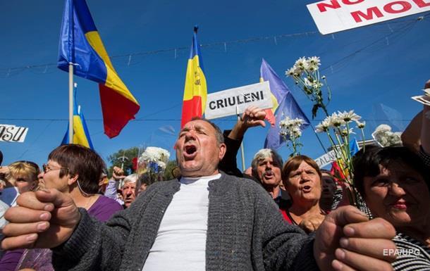 Протесты в Кишиневе: активисты пикетируют суд