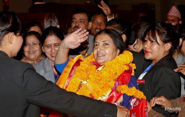 Президентом Непала впервые в истории стала женщина