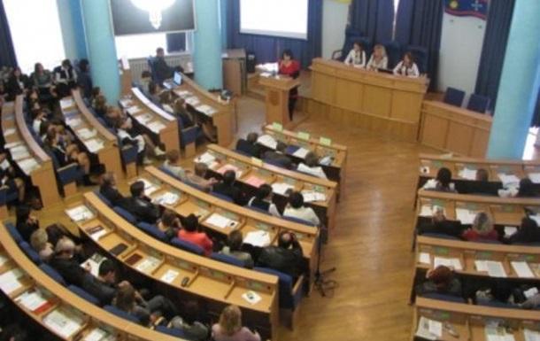 Журналісти у Вінниці порівняли вибори депутатів до облради з природнім відбором