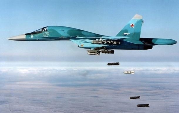 Россия увеличила географию авиаударов – Reuters