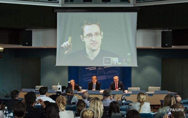 Европарламент призвал страны ЕС прекратить преследования Сноудена