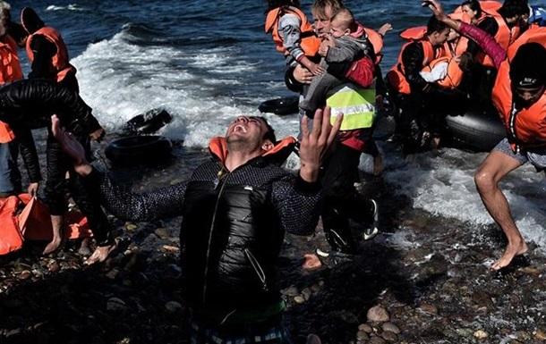 У берегов Греции затонули две лодки с мигрантами