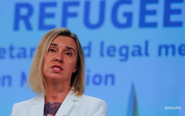 Могерини: ЕС может распасться из-за беженцев