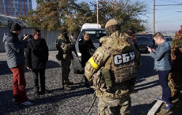 В офисе УКРОП изъяли оружие и более $1 млн - СМИ