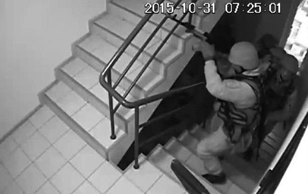 СБУ и милиция провели обыски в главном офисе партии УКРОП в Днепропетровске.