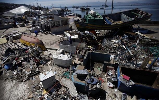 Чили опять всколыхнуло землетрясение