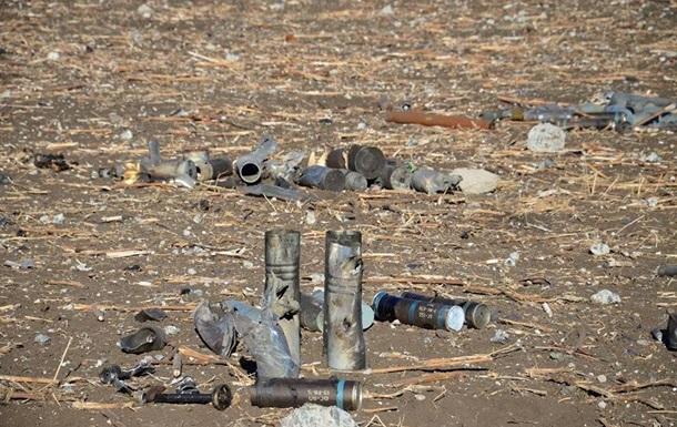 В Сватово уже уничтожили 700 боеприпасов