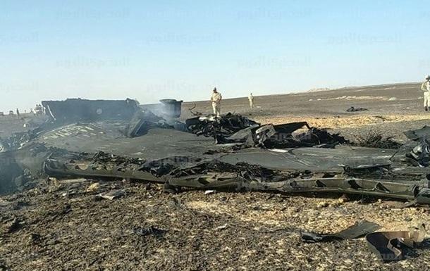 Спутник США зафиксировал тепловую вспышку при падении самолета на Синае