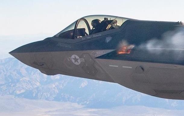 Американцы впервые испытали пушку F-35 в воздухе
