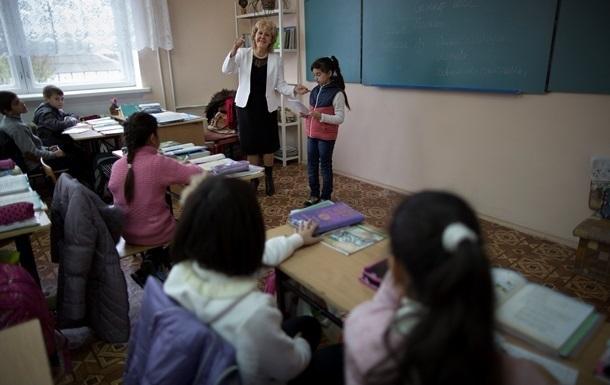 В Донецке из-за холода сократили уроки в школах
