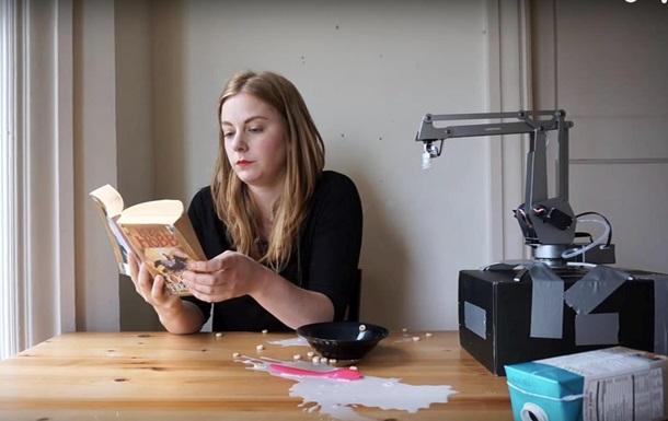 Шведка создала робота, который делает ей завтраки