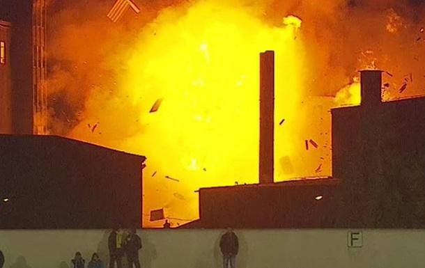 Взрыв на хлебозаводе в Румынии попал в прямой эфир